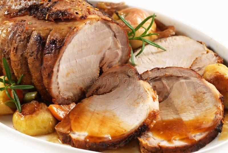 Geroosterd varkensvlees stock foto