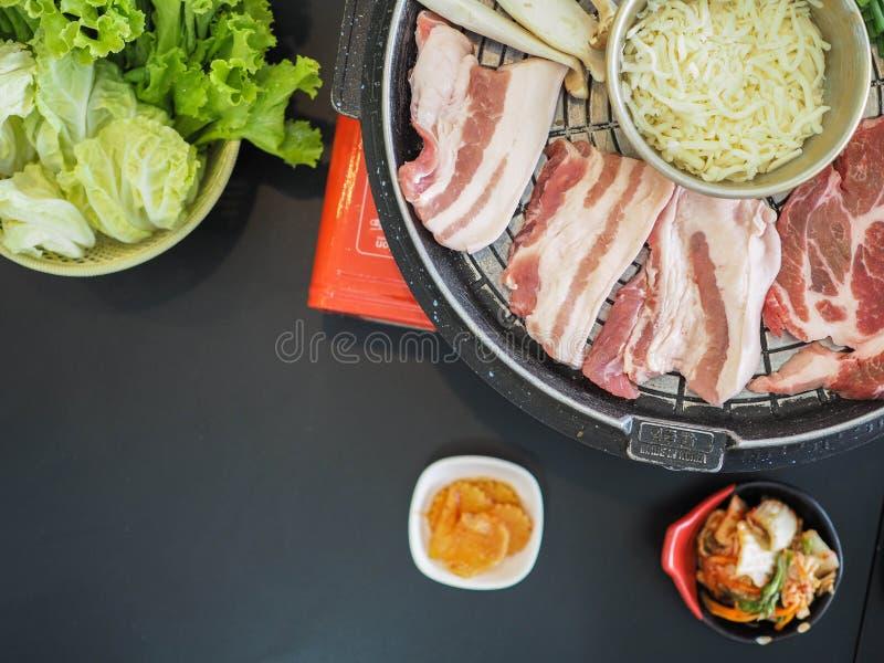 Geroosterd Varkensvlees Korea stock fotografie