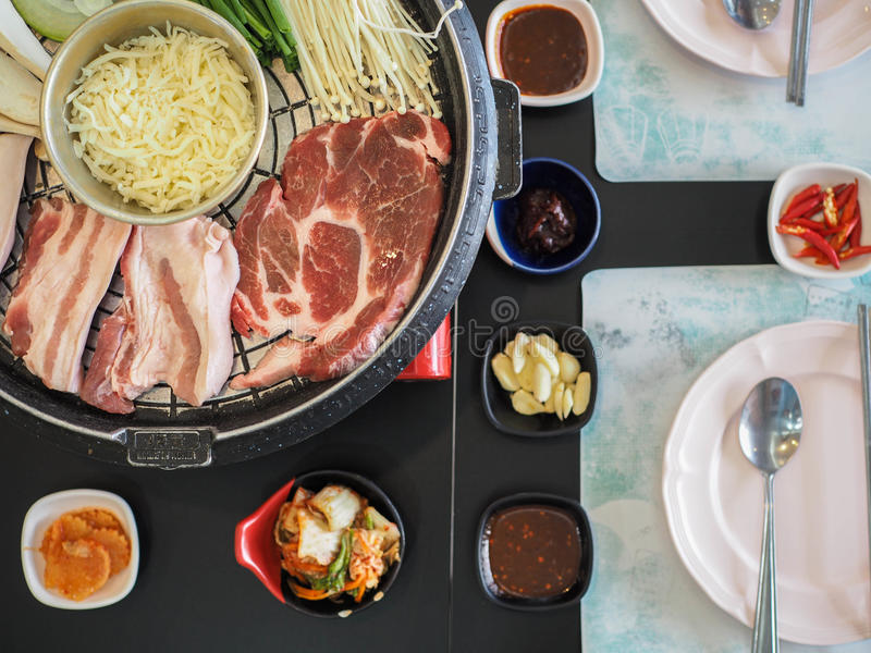 Geroosterd Varkensvlees Korea royalty-vrije stock foto's