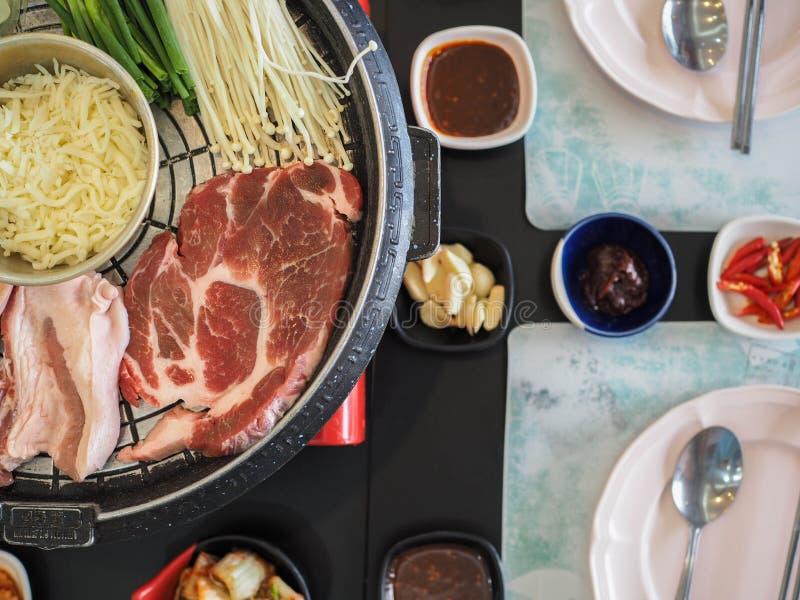 Geroosterd Varkensvlees Korea royalty-vrije stock foto