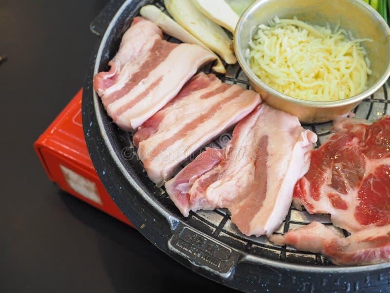 Geroosterd Varkensvlees Korea royalty-vrije stock fotografie