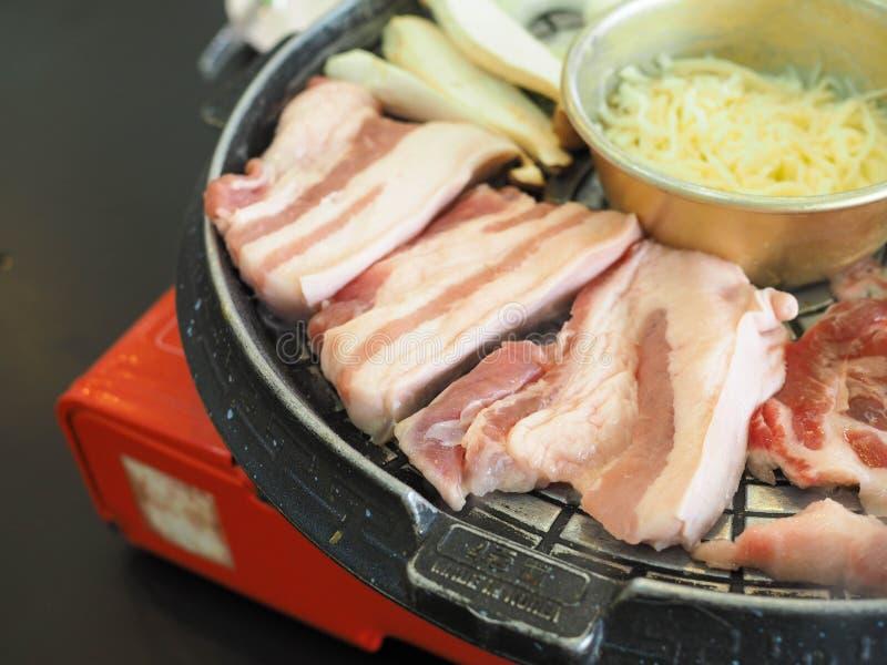 Geroosterd Varkensvlees Korea stock foto's