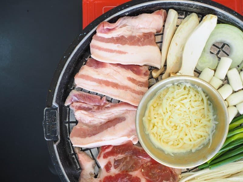 Geroosterd Varkensvlees Korea royalty-vrije stock afbeeldingen