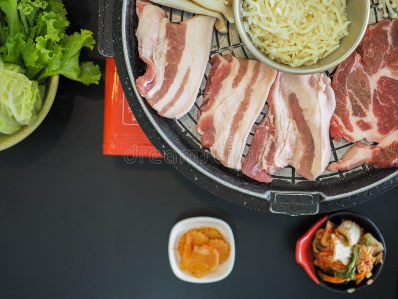Geroosterd Varkensvlees Korea stock afbeelding