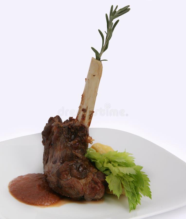 Geroosterd vlees op been royalty-vrije stock foto