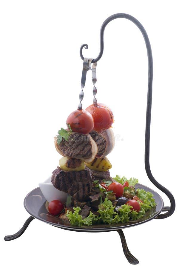 Geroosterd Voedsel stock foto's