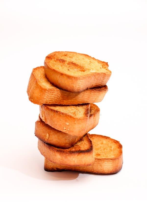 Geroosterde broodsandwich stock afbeelding