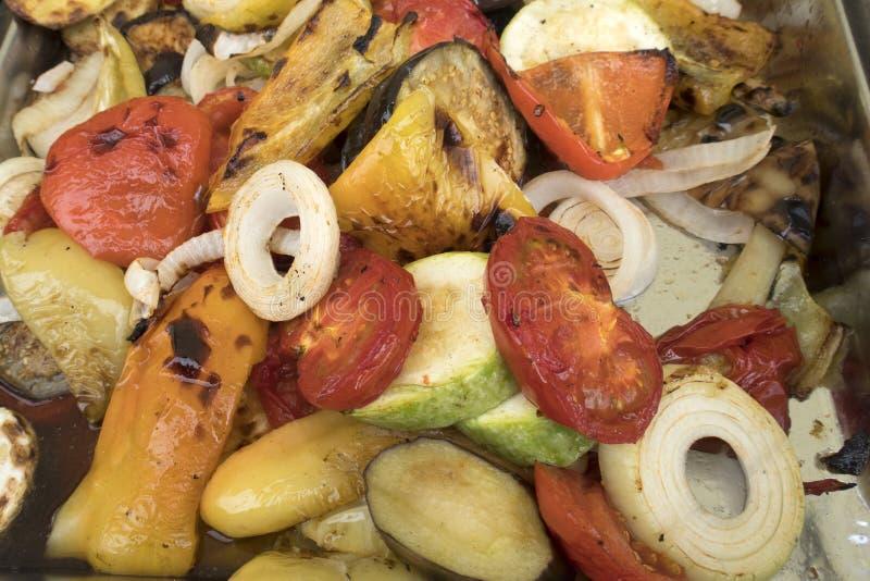 Geroosterde groenten royalty-vrije stock afbeelding