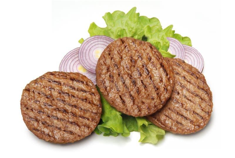 Geroosterde hamburger royalty-vrije stock afbeelding