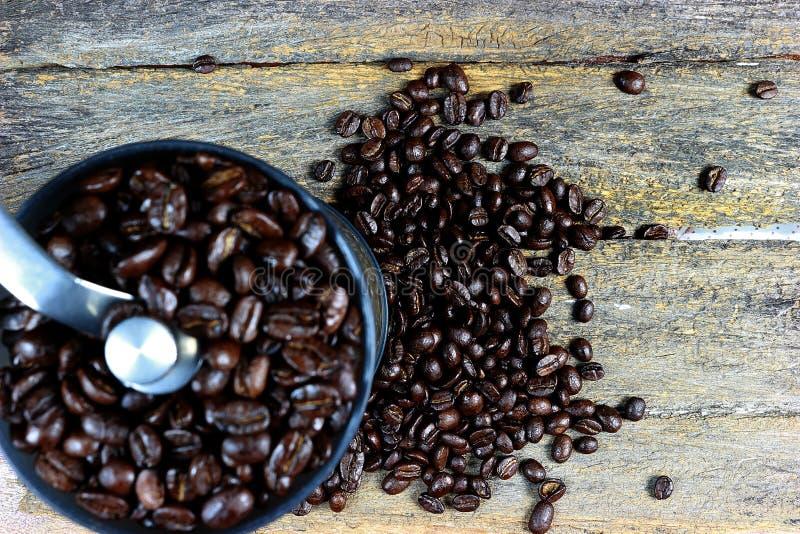 Geroosterde koffiebonen 4 stock foto