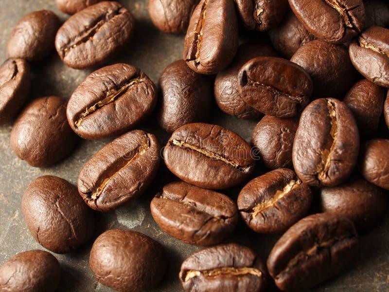 Geroosterde koffiebonen royalty-vrije stock fotografie