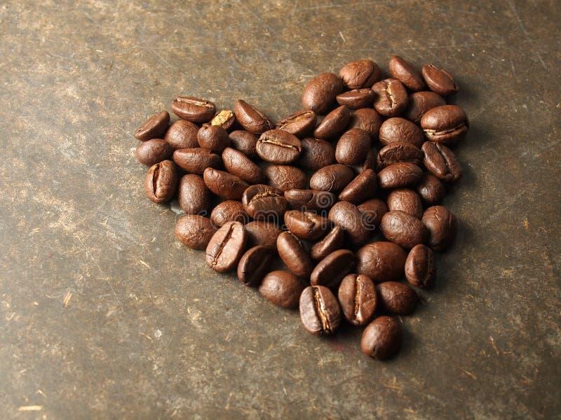Geroosterde koffiebonen stock fotografie