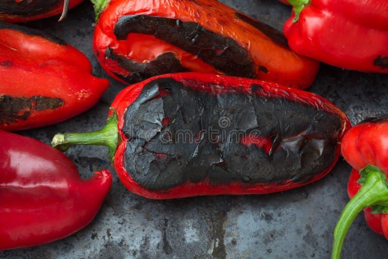 Geroosterde paprika royalty-vrije stock afbeeldingen