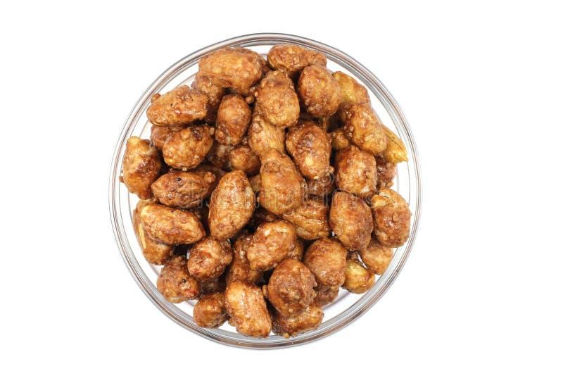 Download Geroosterde Pinda's En Suiker In Een Glas Stock Foto - Afbeelding bestaande uit handvol, kleverig: 39102904