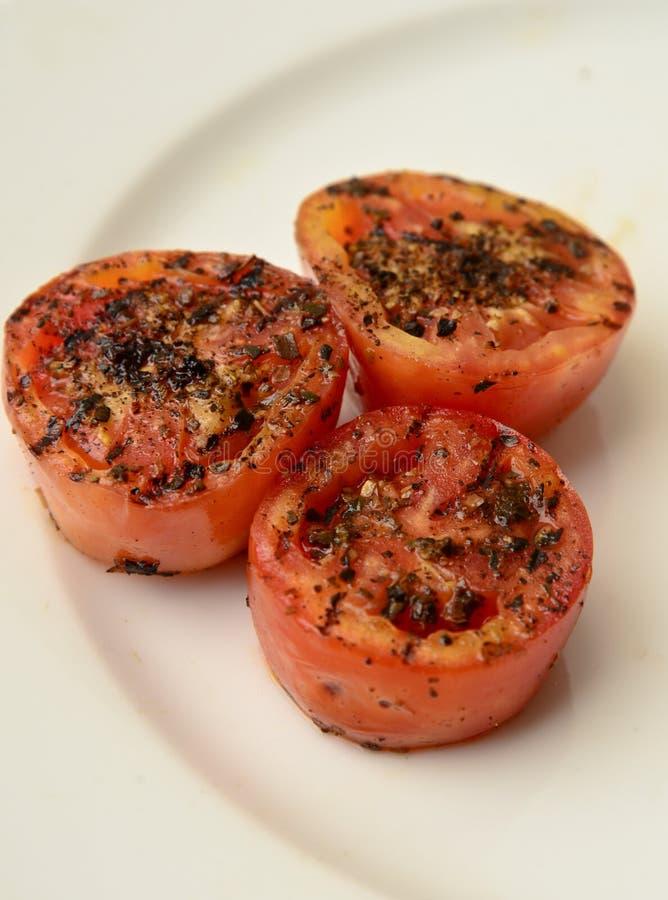 Geroosterde Tomaten stock afbeeldingen
