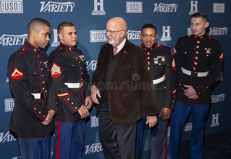 Gerry Byrne at Variety 3rd Annual Salute to Service Event stock image