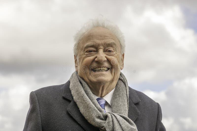 Gerry Marsden MBE-Sängertexter und komponist stockfotografie