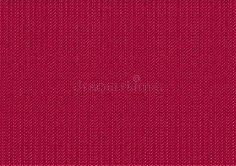 Geruit patroonontwerp in de schaduw van roze royalty-vrije illustratie