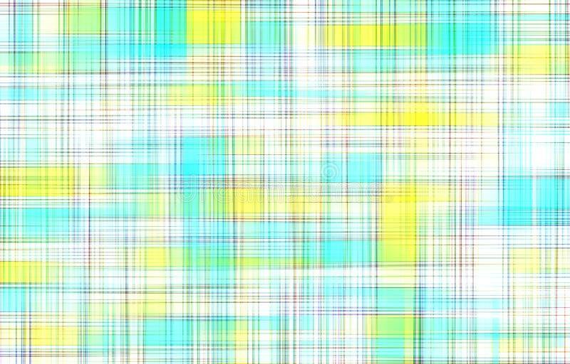 Geruit tafelkleed geometrisch patroon als abstracte achtergrond vector illustratie