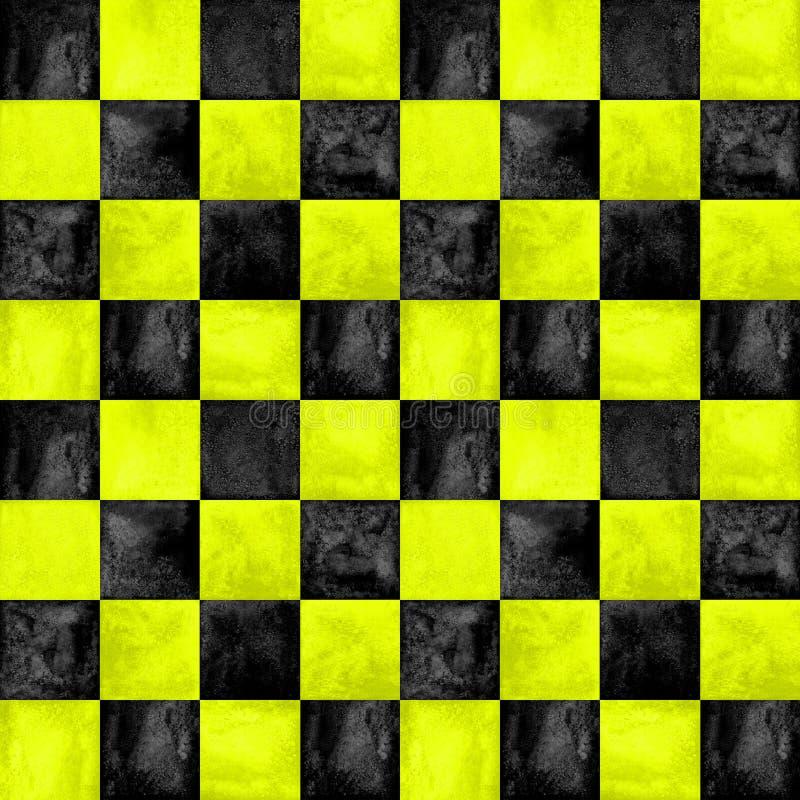 In geruite patroonachtergrond royalty-vrije illustratie