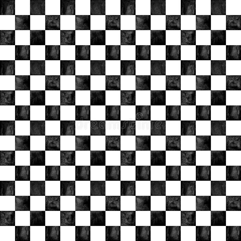 In geruite patroonachtergrond stock illustratie