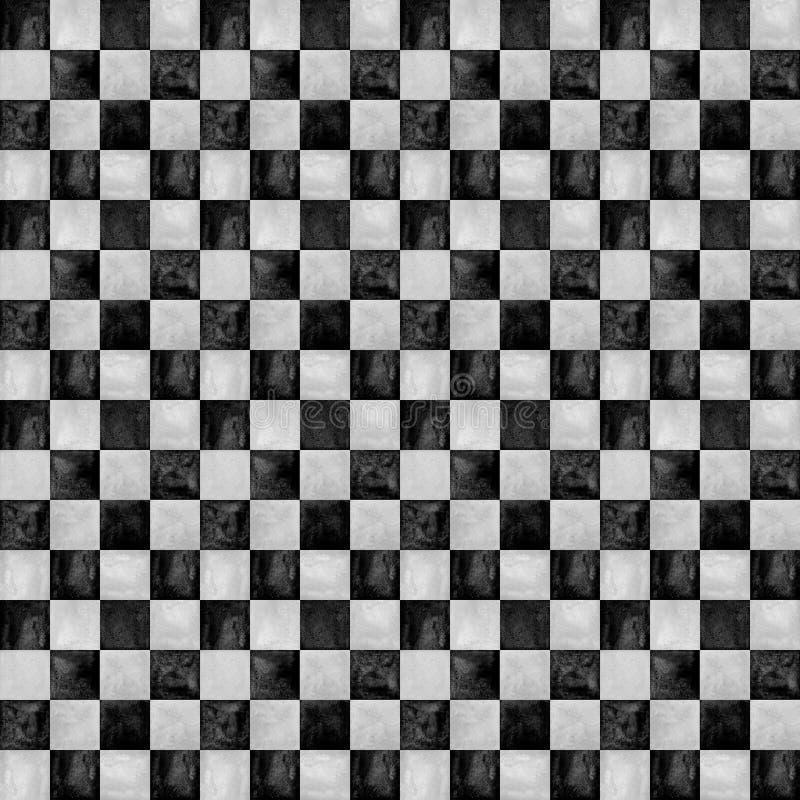 In geruite patroonachtergrond vector illustratie