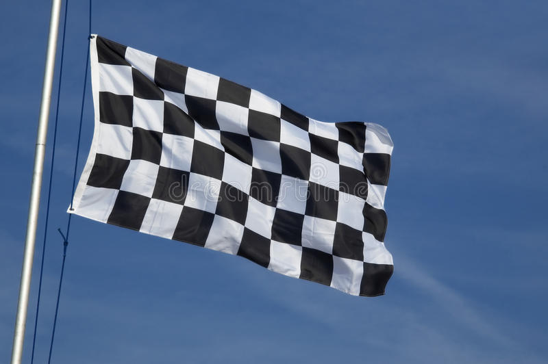 Geruite vlag royalty-vrije stock foto