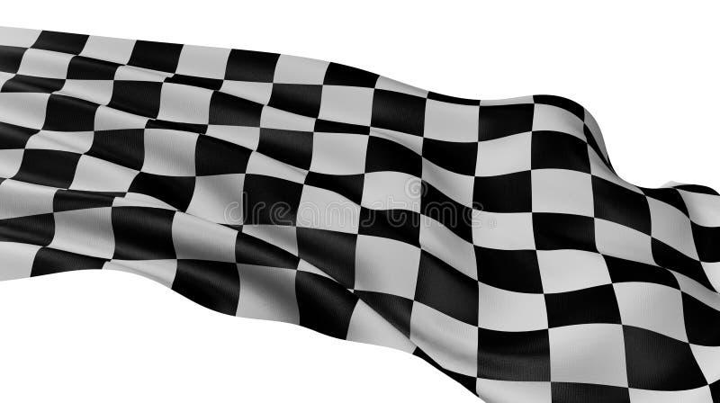 Geruite Vlag royalty-vrije stock afbeelding
