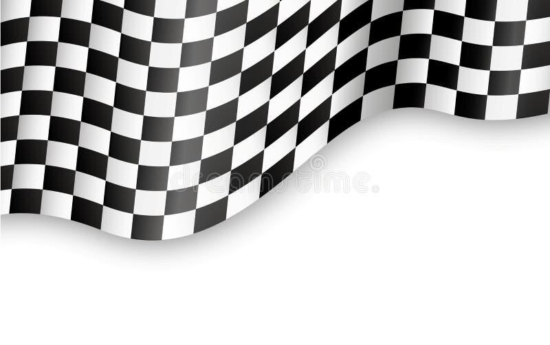 Download Geruite vlagachtergrond vector illustratie. Illustratie bestaande uit competition - 29507517