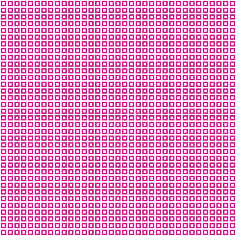 Gerundeter quadratischer abstrakter Dots Geometric Pattern Background stock abbildung
