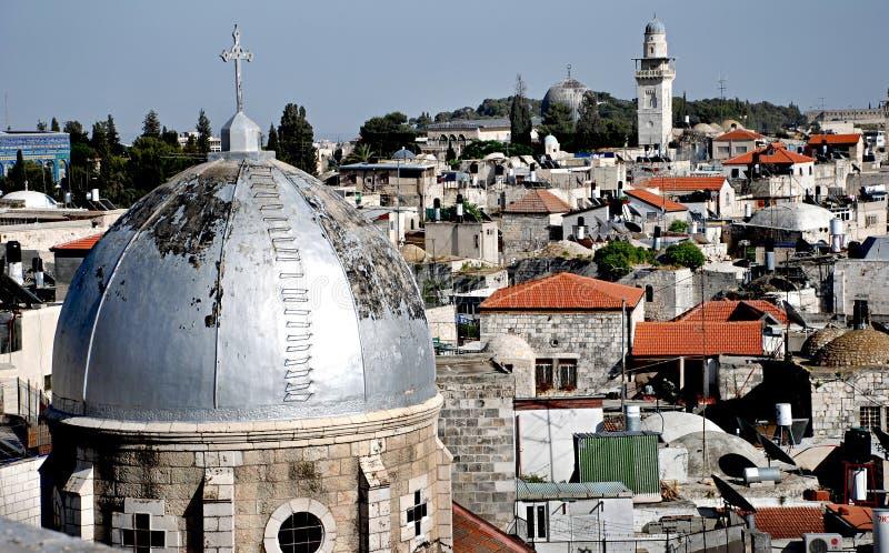 Gerusalemme Israele immagini stock