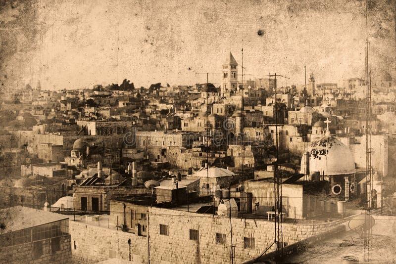 Gerusalemme Israele royalty illustrazione gratis