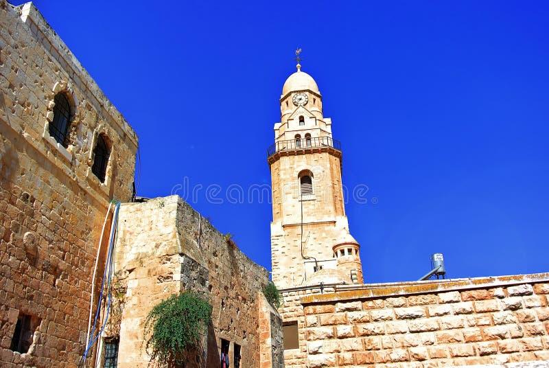 gerusalemme l'israele La culla di tre religioni fotografia stock