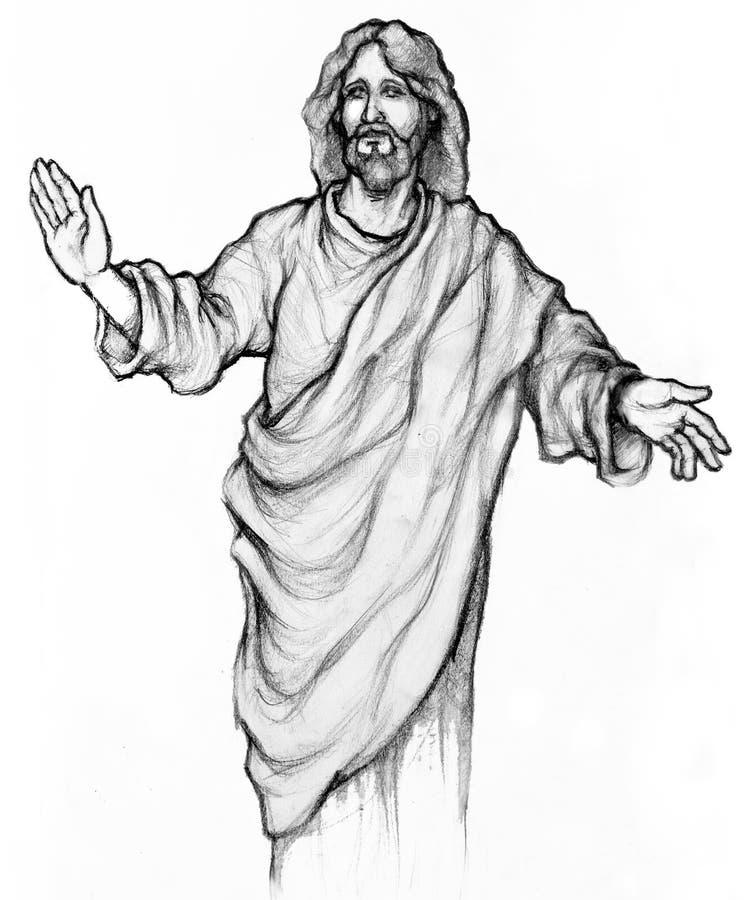 Gesù Cristo illustrazione di stock