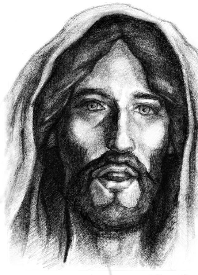 Gesù Cristo di Nazareth illustrazione di stock