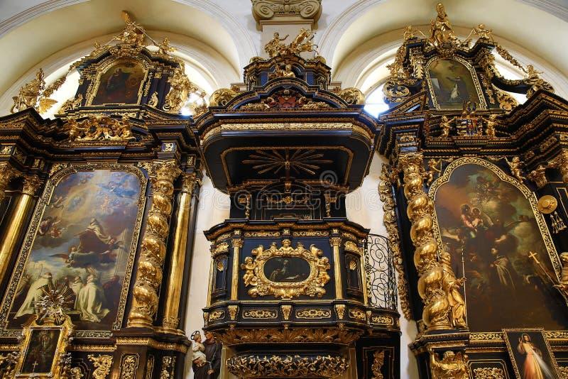 Gesù infantile di Praga (Ceco: Tko del ¡ di Jezulà dello ské del ¾ di PraÅ;) fotografia stock libera da diritti