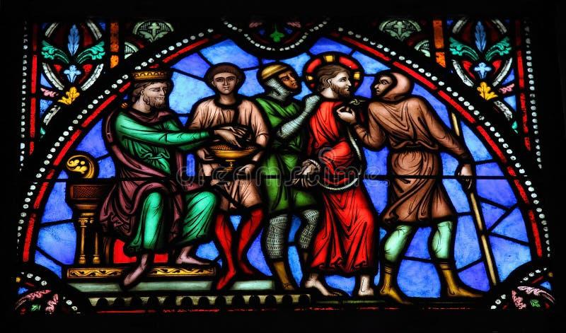Gesù sul venerdì santo immagini stock libere da diritti