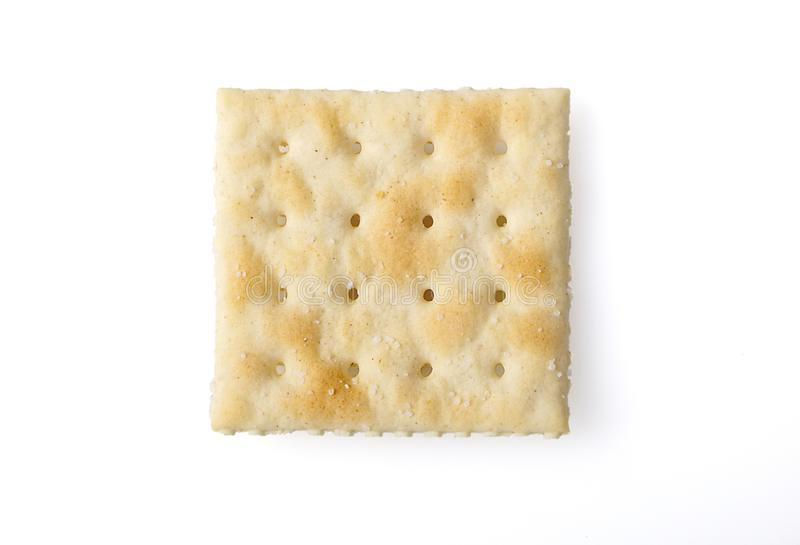Gesalzener Cracker stockbilder
