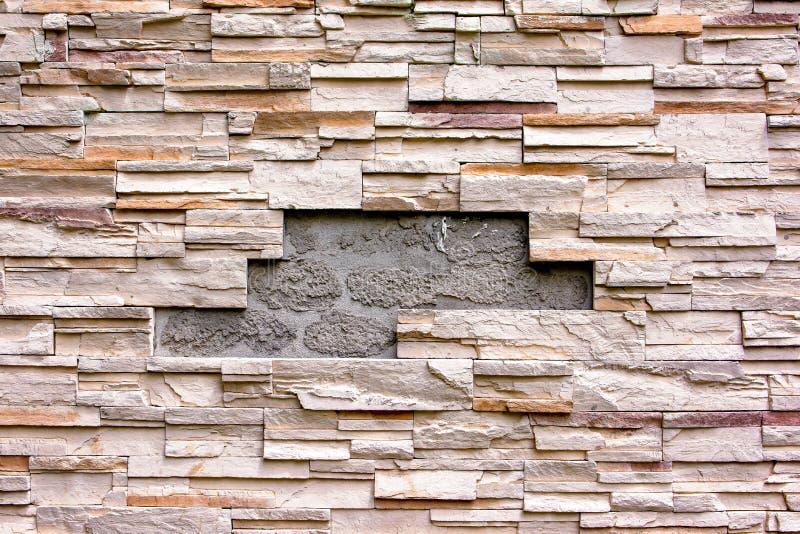 Geschädigte Backsteinmaueroberflächenbeschaffenheit stockfotografie
