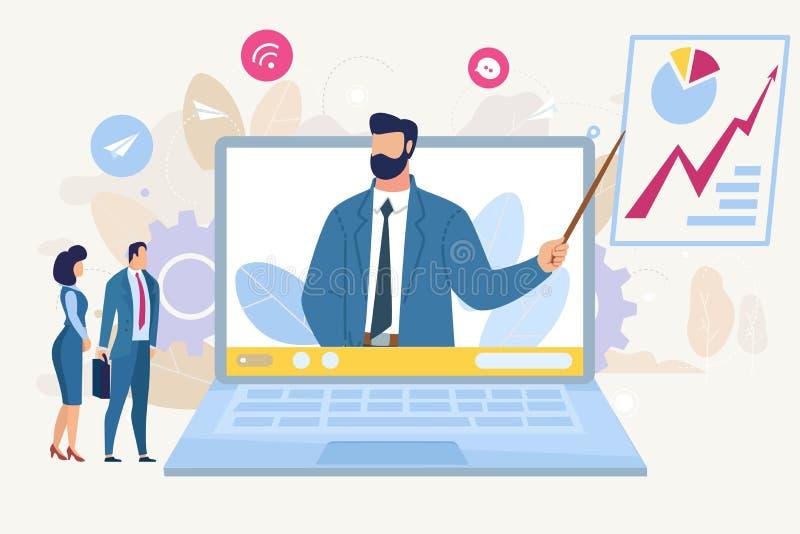 Geschäft Analytics-Beratungs-Vektor-Konzept lizenzfreie abbildung
