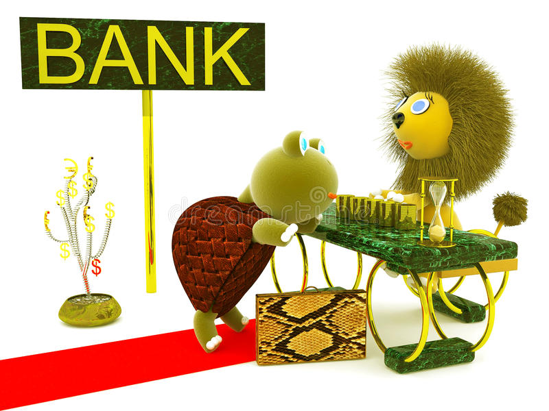Geschäft, Bank lizenzfreies stockbild