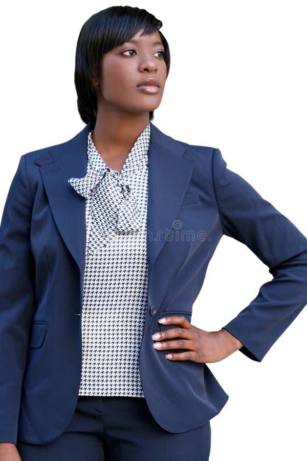 Geschäft, Corproate African-Americanfrau lizenzfreie stockfotografie