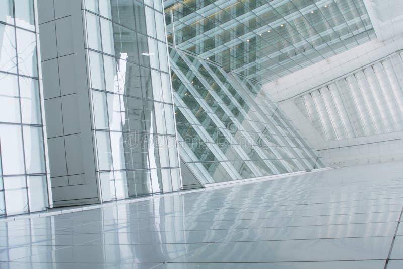 Geschäft, das abstrakten Hintergrund aufbaut lizenzfreie stockfotografie