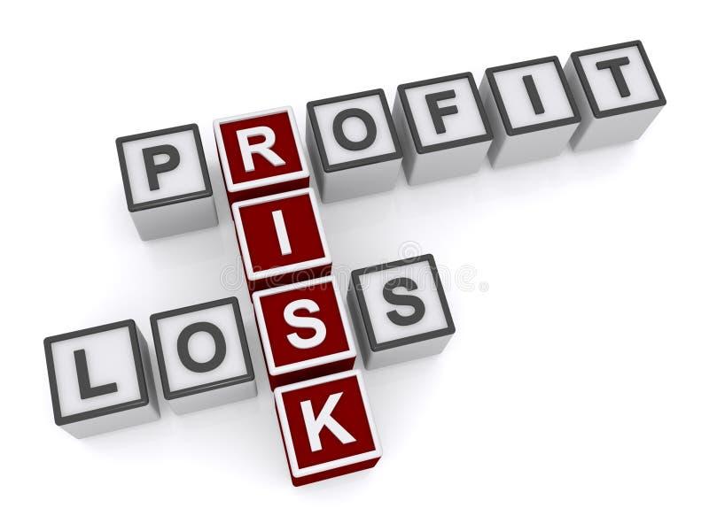 Geschäft Gewinn- und Verlust stock abbildung