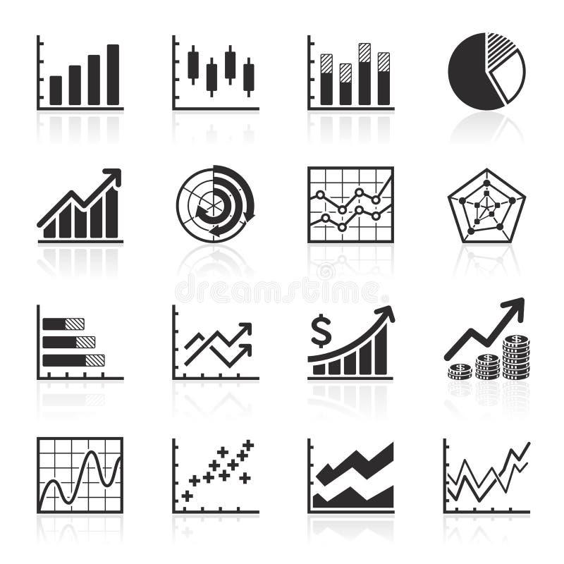 Geschäft Infographic-Ikonen. vektor abbildung