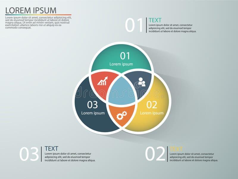 Geschäft infographics mit Stadien eines Verkaufs-Trichters stockbilder