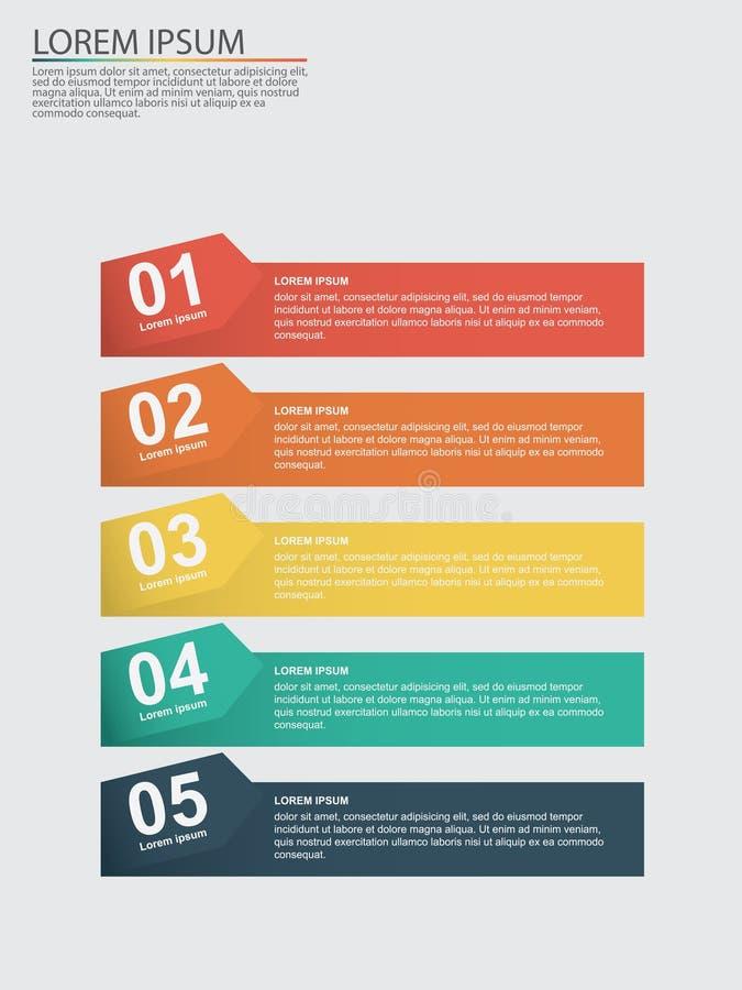 Geschäft infographics mit Stadien eines Verkaufs-Trichters stockfoto
