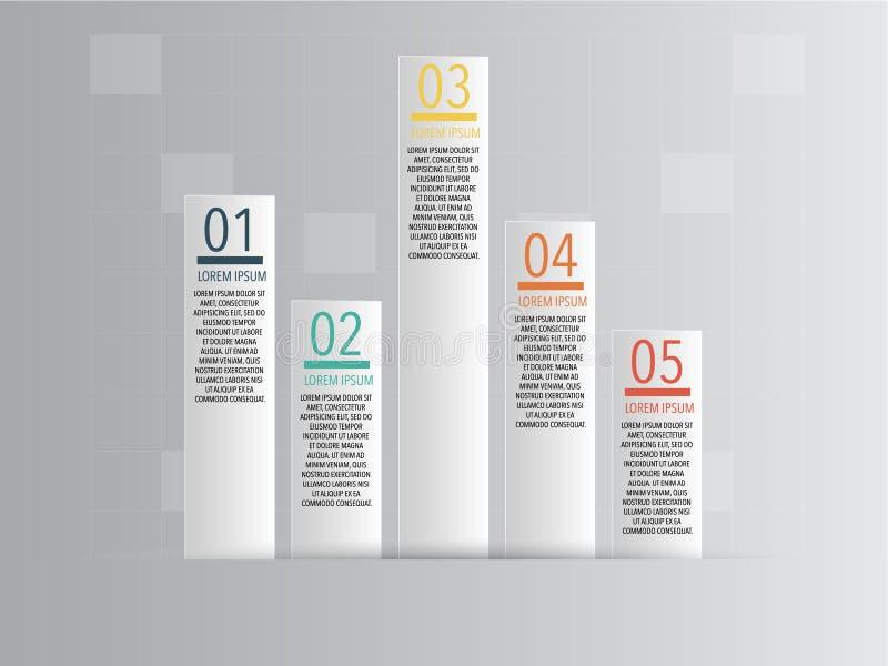 Geschäft Infographics-Vektor-Illustration stockfoto