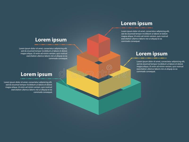 Geschäft Infographics-Vektor-Illustration stockbild