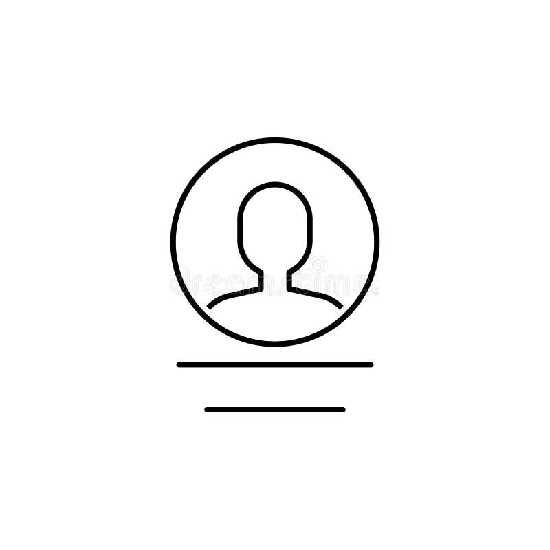 Geschäft seo, Benutzerlinie Ikone Teamwork an der Idee Zeichen und Symbole k?nnen f?r Netz, Logo, mobiler App, UI, UX verwendet w vektor abbildung